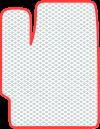 Водительский или пассажирский коврик EVA Profy